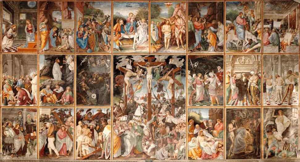 Gaudenzio Ferrari, Life of Jesus