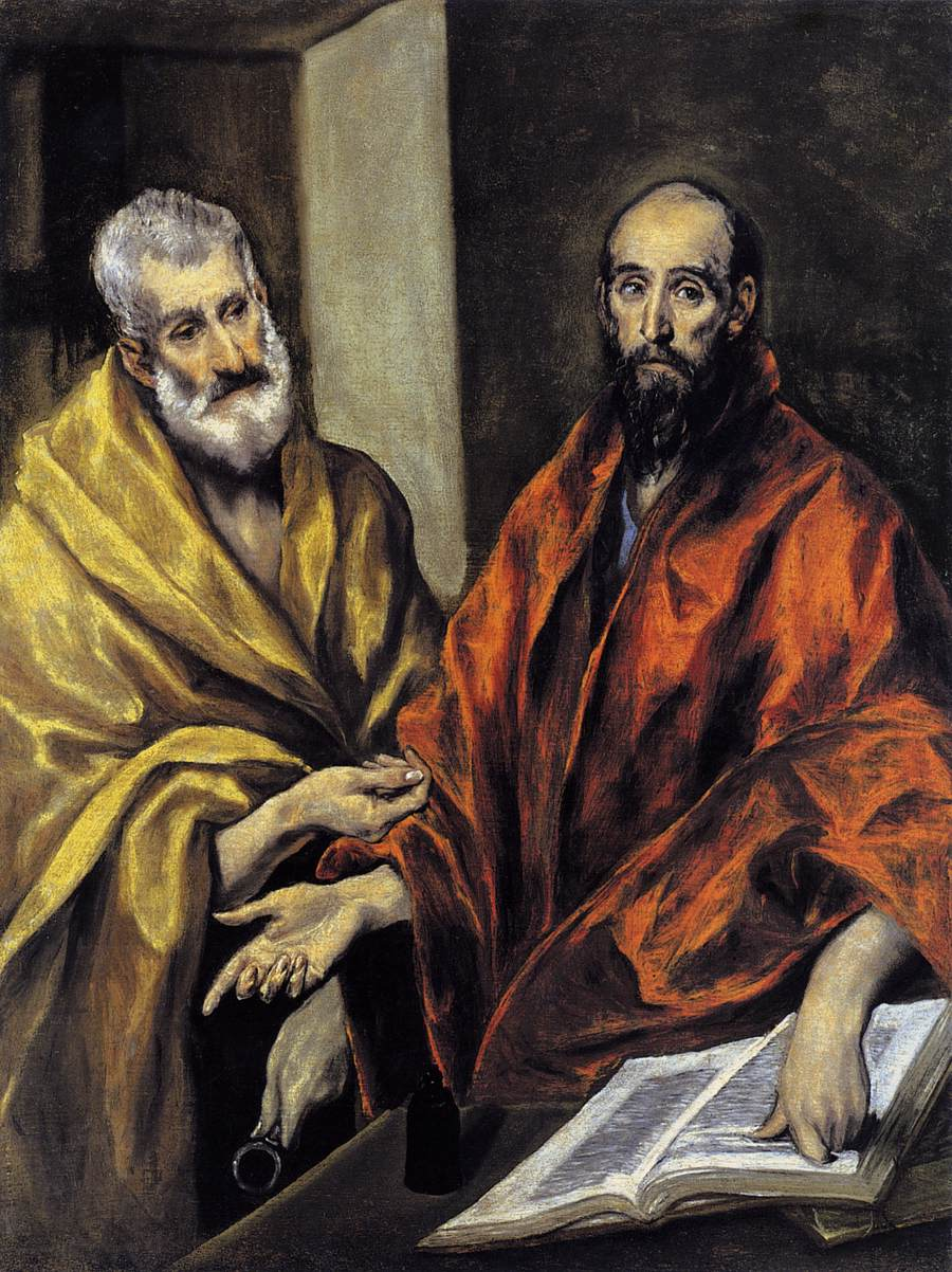 El Greco - Saints Peter and Paul (source: wikipedia)