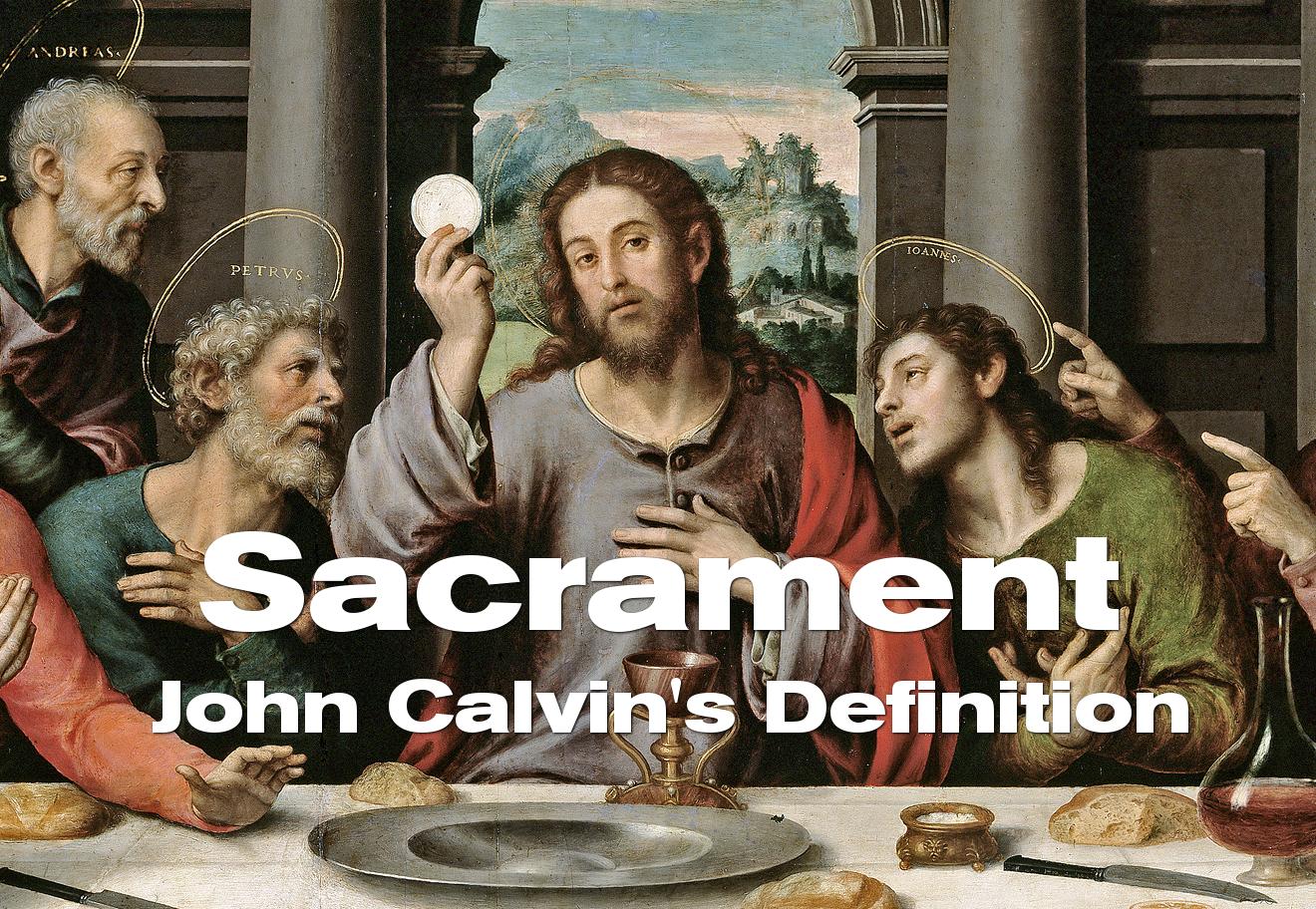 calvin-sacrament