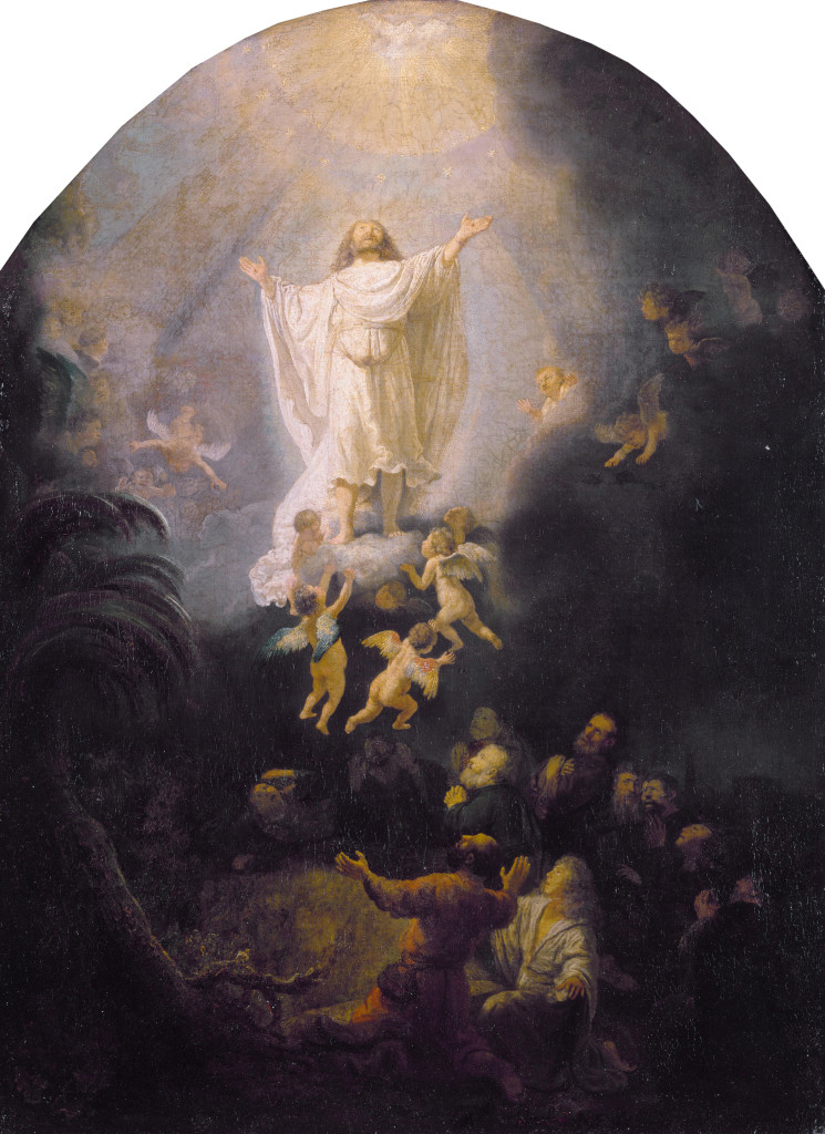 The Ascension, by Rembrandt (source: wikipedia)