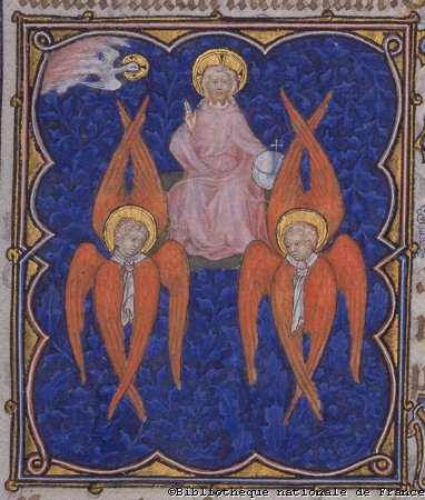 The Seraphim are often believed to be the highest order of angels, and they are depicted as fiery serpents.