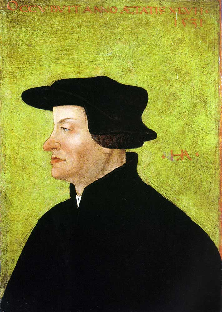 Swiss Reformer, Ulrich Zwingli