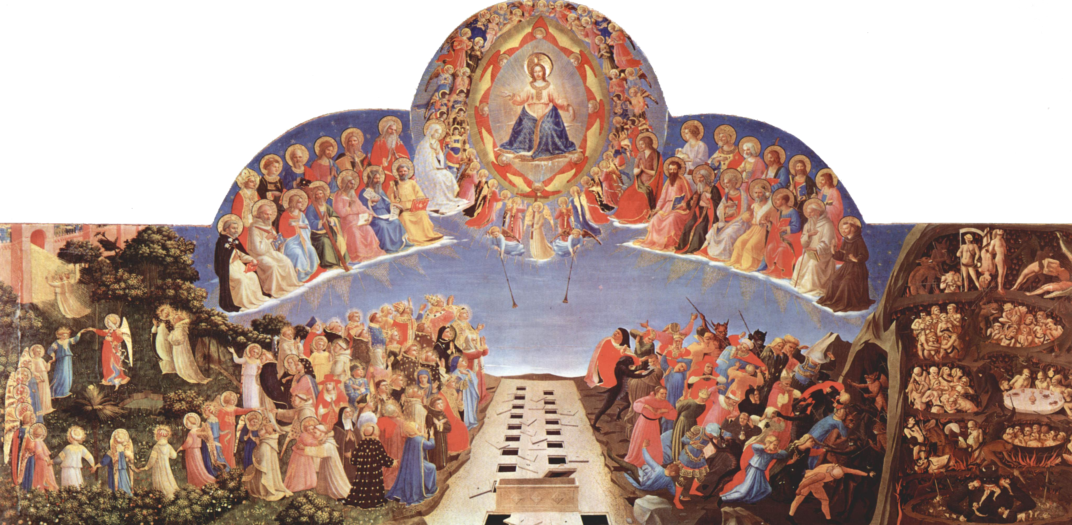 Fra Angelico, The Last Judgment