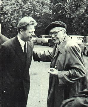 Hans Kung and Karl Barth