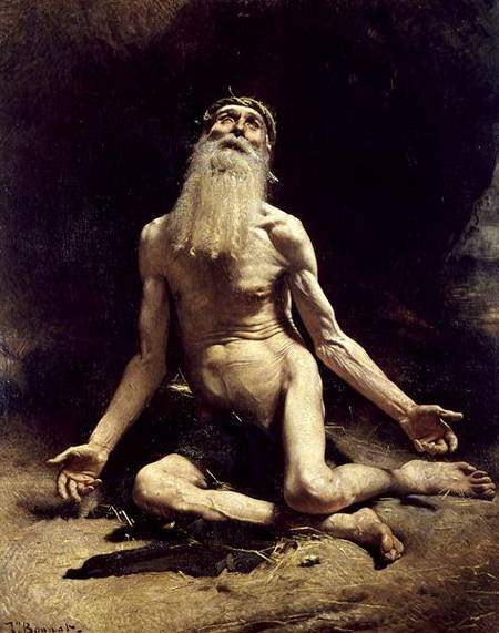 Job by Léon Bonnat