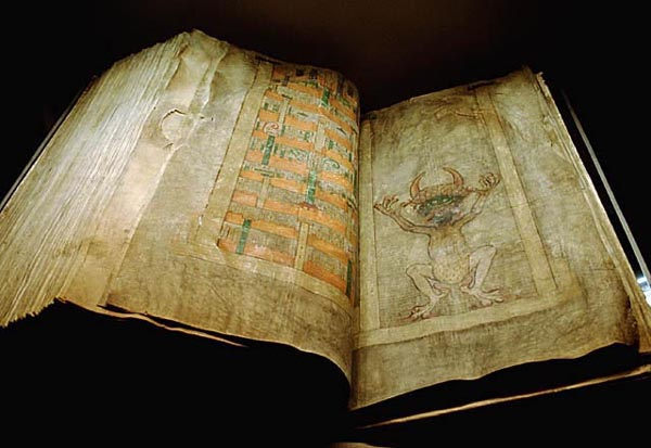 Codex Gigas (source: wikipedia)