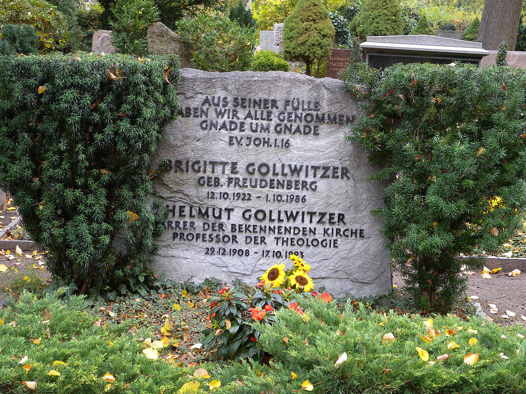 Helmut Gollwitzer died 21 years ago today (source:wikipedia)
