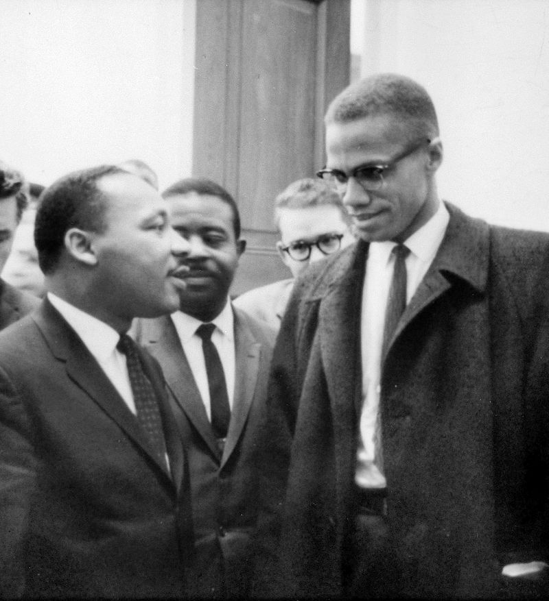 a comparison of malcolm x and martin luther king in their fight for civil rights and racial segregat The major difference between martin luther king jr and malcolm xwas their general approach towards ending racism and segregationking preferred a non violent approach while malcolm x felt that heneeded to make his point by any means necessary.