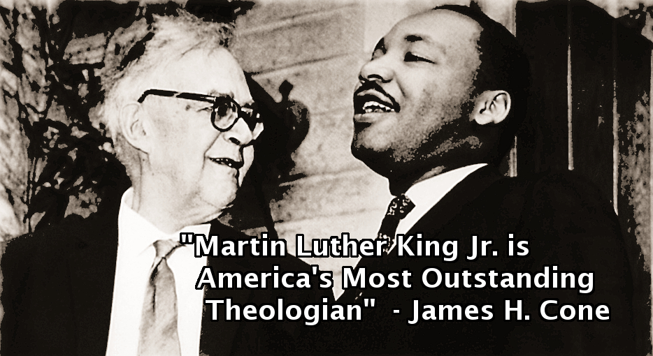 Karl Barth with Martin Luther King in Princeton, 1962 (source: kbarth.org)