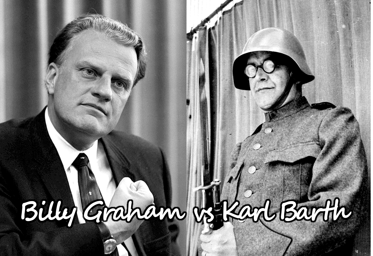 billy-graham_vs_karl-barth