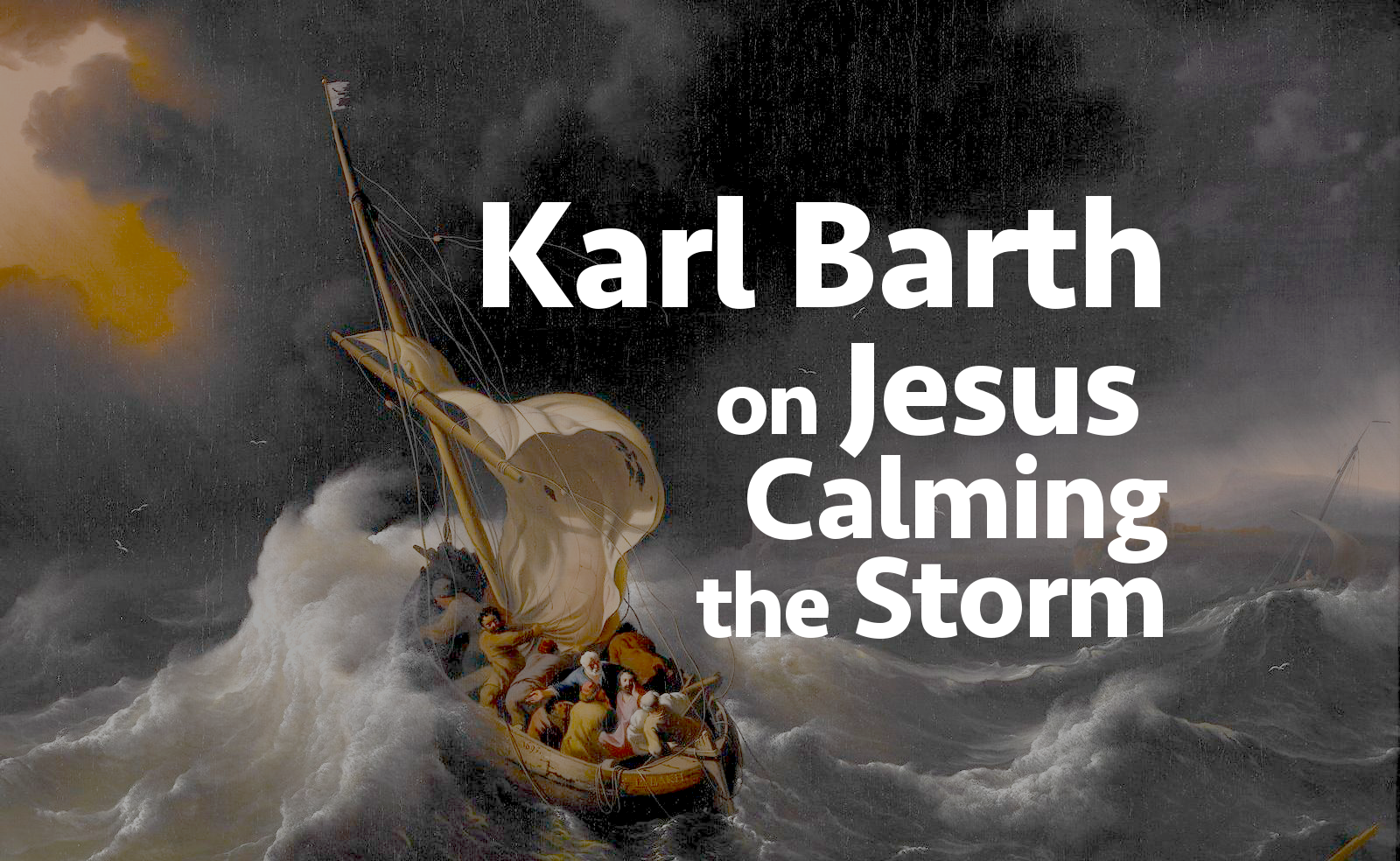 christinthestormkarlbarth
