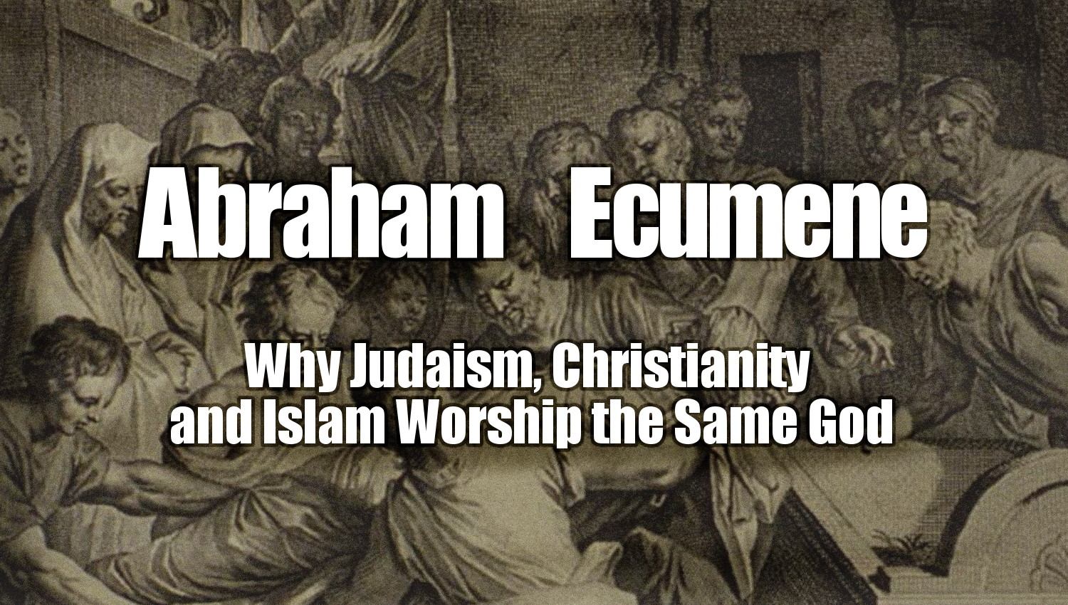 an examination of allah el and jehovah as the same god in muslim judaism and christianity He is same god in christianity andjudaism how do allah relate to the god of christians and jews how does allah relate to the god of the christians and the.